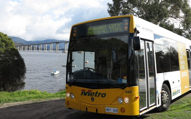 Connect with Metro Tasmania's Hobart Network